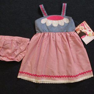 Girls dress outfit